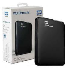 WD Elements 1TB/2TB 2.5吋行動硬碟