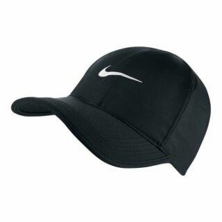 NIKE FEATHERLIGHT 679421-010 DRI-FIT 快乾 透氣 運動帽 黑白 帽子