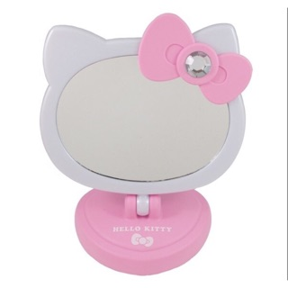 Hello kitty 觸控LED造型桌鏡(全2種)