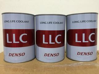 《油工坊》DENSO Long Life Coolant 長效水箱精 100% 原裝進口 Toyota 指定 2罐 免運