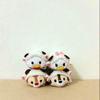 日本 迪士尼 商店 tsum tsum 2015年 羊年 奇奇 蒂蒂 唐老鴨 黛絲