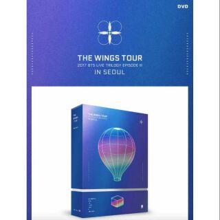 BTS 防彈少年團 官方2017 BTS Live DVD