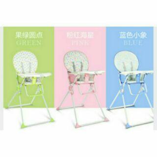 兒童多 折疊餐椅
