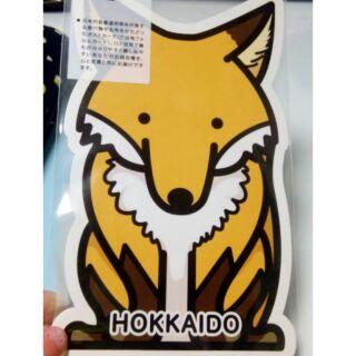 北海道空運✈ 限定狐狸明信片