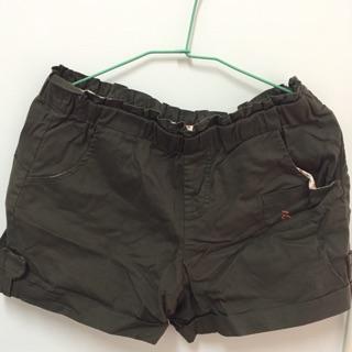 滿千送百 專櫃a la sha 修飾硬挺短褲