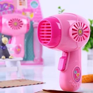 寶寶愛玩具兒童辦家家仿真迷你吹風機小女孩男孩化妝品盒彩妝盒套裝女