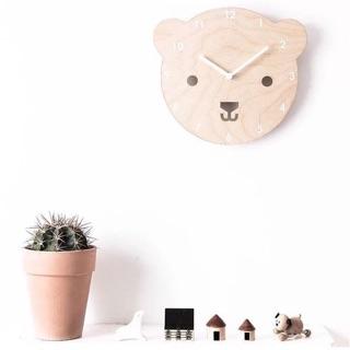 【CIAR】北歐家居 木質造型靜音時鐘