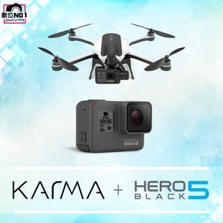 附教學 含穩定器 GoPro Karma 空拍機 晴光 含 HERO5 無人機 公司貨 實體店 數位NO1 摺疊 輕巧