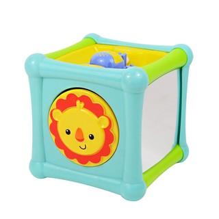 費雪探索學習探索小魔方嬰幼兒童益智早教多面寶寶玩具BFH800