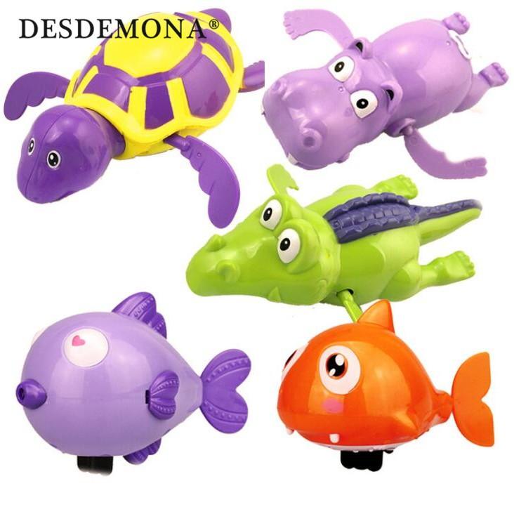母嬰嬰幼兒玩具 洗澡玩具 兒童卡通發條小玩具上鍊游水烏龜會游泳寶寶戲水洗澡玩具 兒童玩具母嬰