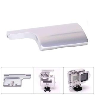 高品質鋁合金GoPro Hero3+防水殼開口保護殼專用個性炫彩後殼蓋扣保護殼鎖扣
