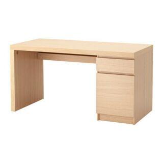 (含運)Ikea Malm 書桌 工作桌 辦公桌