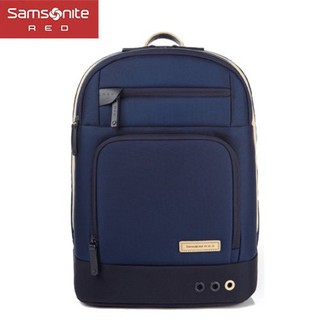 [阿雷斯] 7折特價 Samsonite RED【國際廣告款 VOY 33S】型男 美女專用款 筆電後背包 藍S