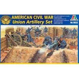 ITALERI 義大利模型 6032 Union Artillery Set 1/72