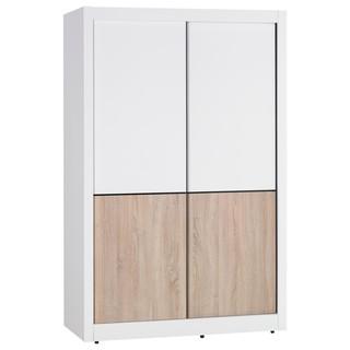 【另有折扣】,S426-2 小北歐4尺推門衣櫥/推門衣櫃,大台北都會區免運費