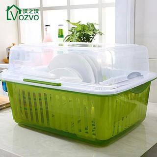 碗柜廚房瀝水架塑料碗筷餐具收納盒