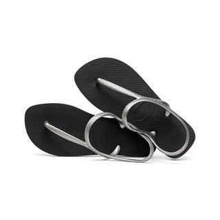 哈瓦仕 Havaianas Flash Urban 珠光黑銀涼鞋 新款特價780