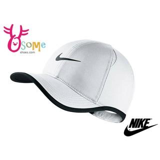 Nike帽子 現貨 Dri-FIT 男女款 休閒 流行 網球帽 棒球帽 A0414%23白色◆OSOME奧森童鞋/小朋友
