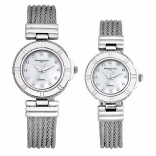 總代理貨 范倫鐵諾古柏 Valentino Coupeau 戀鎖巴黎 鋼絲 腕錶 手錶 手表 男女對錶 對表 1D