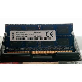 金士頓 筆電 記憶體 DDR3-1600 8G (終保 盒裝完整)