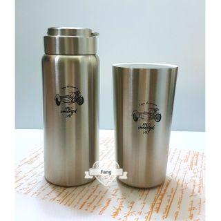 WOKY 沃廚 陶瓷易潔層316不鏽鋼真空雪瓷/陶瓷保溫杯瓶
