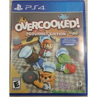 PS4 煮過頭 Overcooked 美版英文 現貨(中古含特典)*