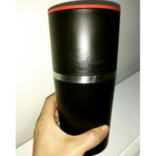 韓國製all-in-one 多功能研磨過濾手沖咖啡一體杯(包裝盒還在)