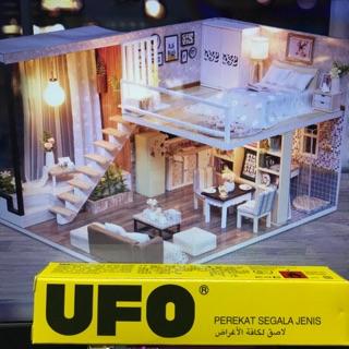 UFO袖珍屋專用膠水 小屋專用膠水 膠水 模型專用膠 娃娃屋 袖珍屋
