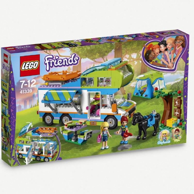Lego樂高積木✨樂高好朋友系列Mia露營車#41339