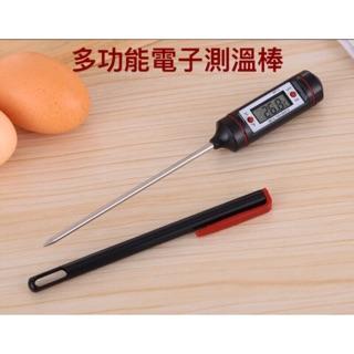 筆式溫度計 家用探針式溫度計 食品溫度計 測水溫 食物測溫 廚房溫度計