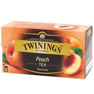 唐寧 TWININGS 香甜蜜桃茶  25入/盒