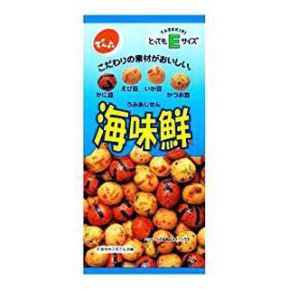 日本 零嘴 海味鮮  50g Denroku 點心 小菓子 海味鮮豆果子