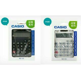 (優惠活動 任選兩件369) CASIO 12位數電子計算機 MZ-12S