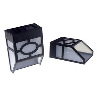 光控太陽能復古壁燈歐式太陽能籬笆燈室外燈門燈籬笆燈六角壁燈景觀燈庭園燈裝