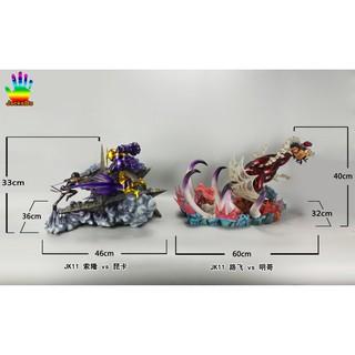 海賊王 JACKSDO jk11 魯夫vs明哥  GK SD