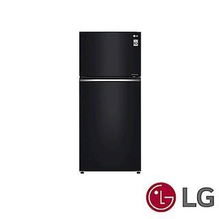 LG  樂金 525公升 升黑色直驅變頻上下門冰箱 一級省電 強化玻璃層架 (精緻銀) GN-HL567GB