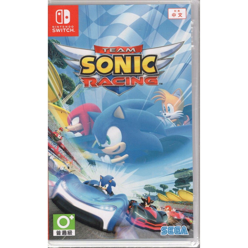 Switch 遊戲 音速小子 搭檔組隊大賽車 Team Sonic Racing 中文版【魔力電玩】
