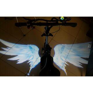 王董的電動車 電動滑板車專用翅膀投燈 可用在X5,X6,Q1