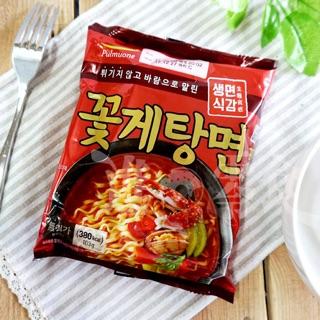 韓國泡麵 PULMUONE 非油炸花蟹海鮮湯麵/螃蟹拉麵 螃蟹泡麵