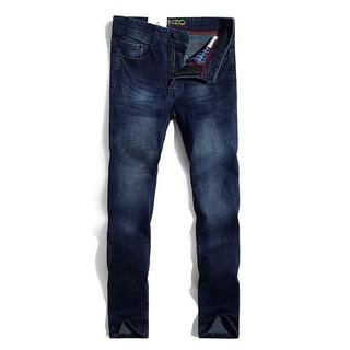 KENZO牛仔褲男士直筒牛仔褲時尚潮褲KENZO長褲小腳褲丹寧牛仔褲