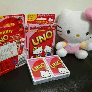 正版UNO 三麗鷗 UNO Hello Kitty 桌遊 UNO卡 KittyUNO 益智遊戲 團體遊戲 桌上遊戲