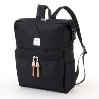 ˙美眉日貨˙日本進口anello拉鍊大容量帆布手提/後背包