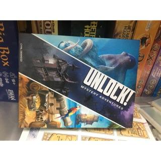 Unlock! Mystery Adventures Unlock 2(九成新)