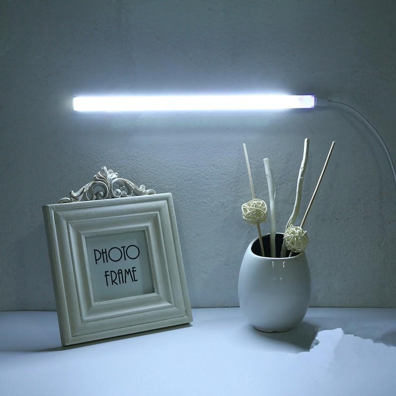 30cm 長條桌燈LED 燈櫥櫃燈書桌燈便攜式家用USB 閱讀燈書房辦公室學習( )LED 觸控