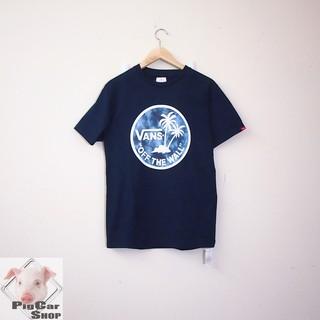 VANS Logo 短T/ SUMMER  / 深藍