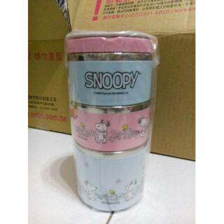 Snoopy 三層保溫餐盒組