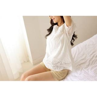 【媽媽衣】日本S.Y.S 孕婦托腹短褲  可調式腰圍 托腹 腹部可吸汗 防寒 保暖 保護子宮 孕婦褲百搭款
