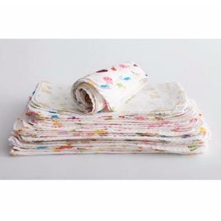 西松屋高密度紗布巾手帕 兒童雙層紗布巾/雙層口水巾