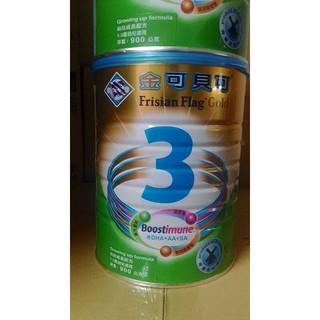 金可貝可3號成長奶粉900g 6罐免運 12罐附贈品 !(最新效期2018.7月)