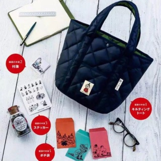 [star shop] 嚕嚕米MOOMIN姆明 夾棉 手提包 托特包